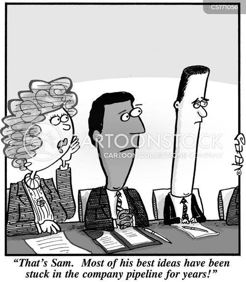 pipelines cartoon