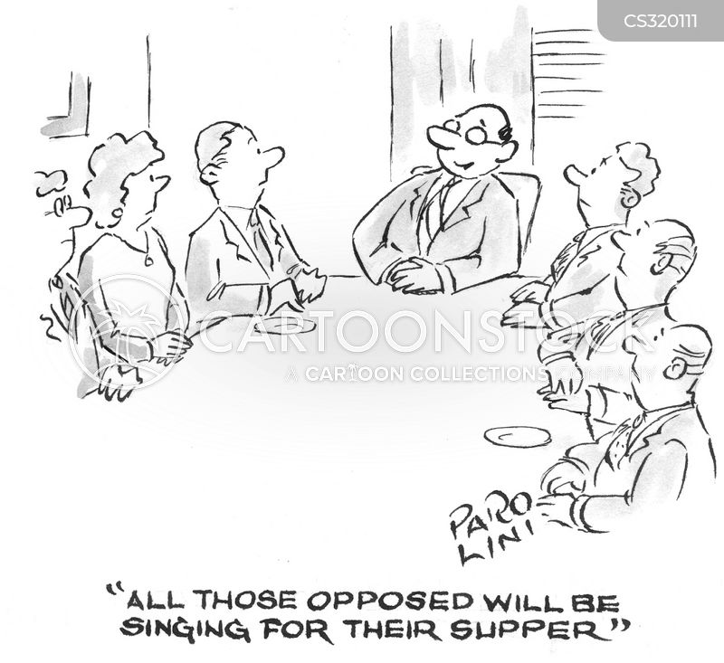 Unanimity Cartoons And Comics Funny Pictures From Cartoonstock