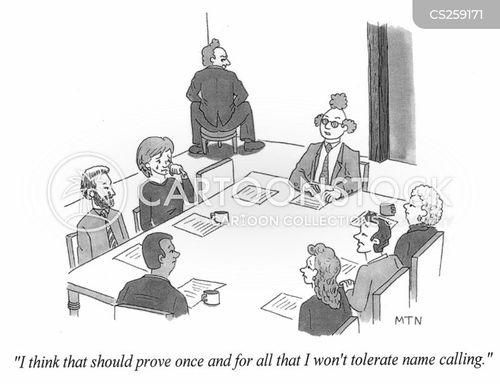 name call cartoon