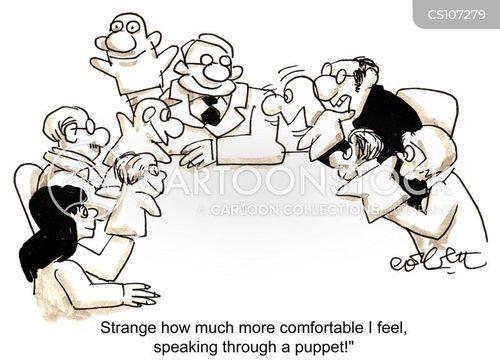 assured cartoon