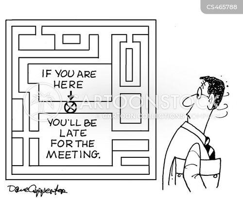 time-keeper cartoon