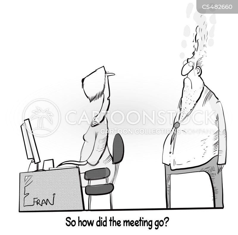 bad day at the office cartoon