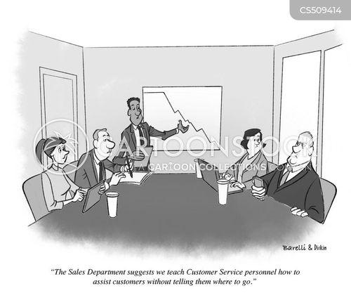 failing company cartoon