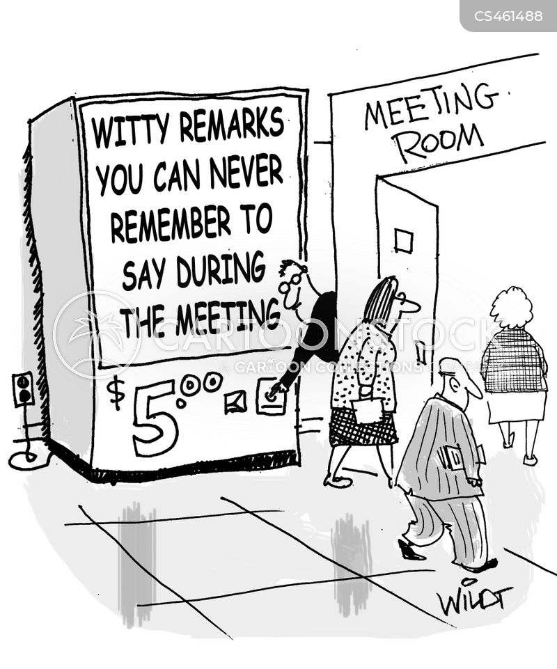 witty retort cartoon