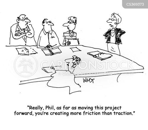 friction cartoon