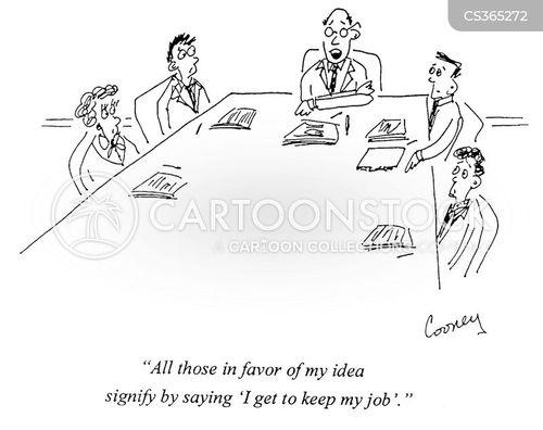 dictating cartoon
