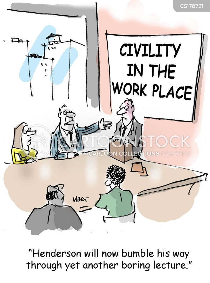civility cartoon