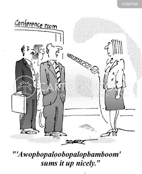 summary cartoon