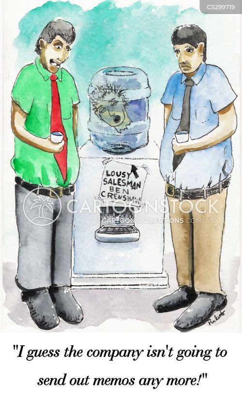 watercooler cartoon