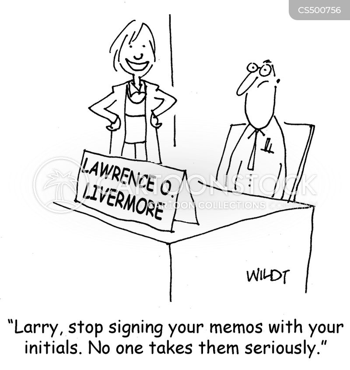 office memos cartoon