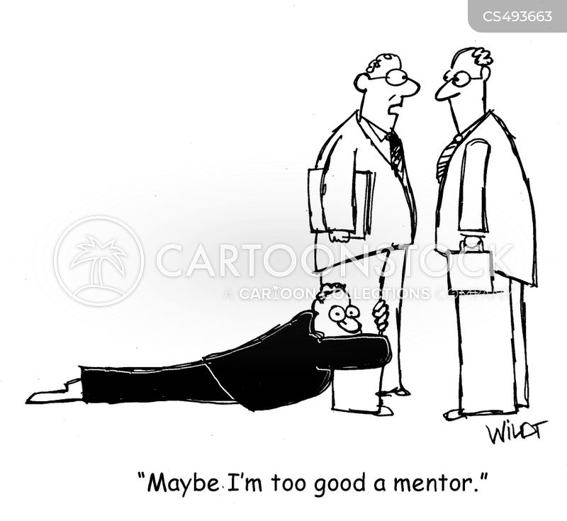 mentorships cartoon