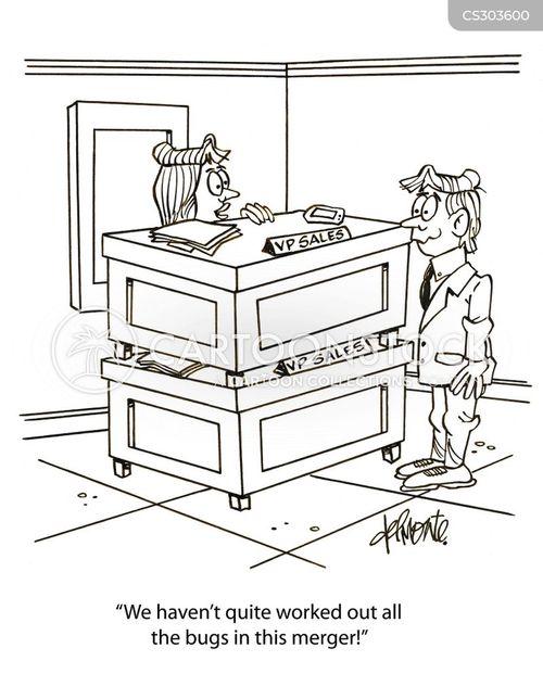 job position cartoon