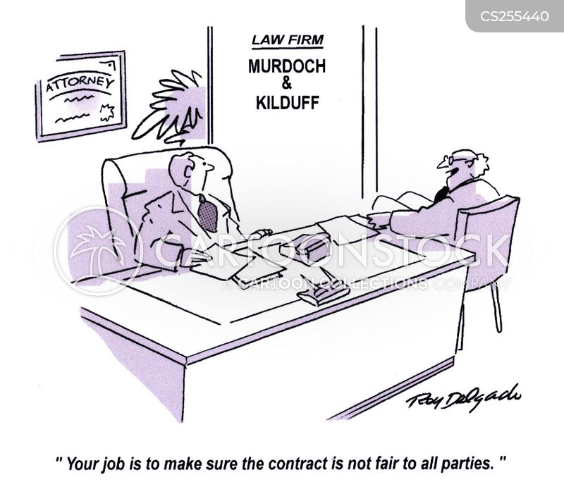 business party cartoon