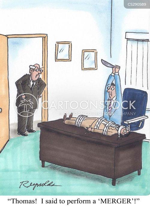 serial killers cartoon