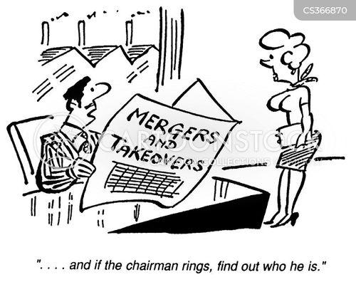 asset stripper cartoon