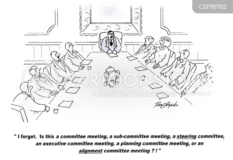 planning committee cartoon