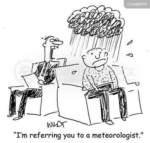 dark clouds cartoon