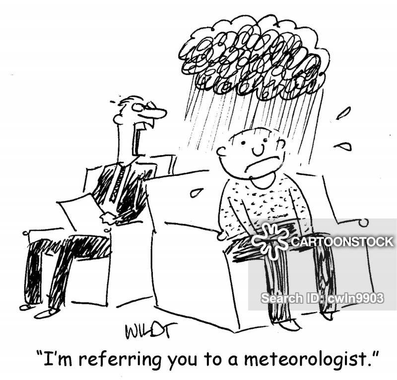 rainclouds cartoon