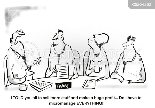 micromanagers cartoon