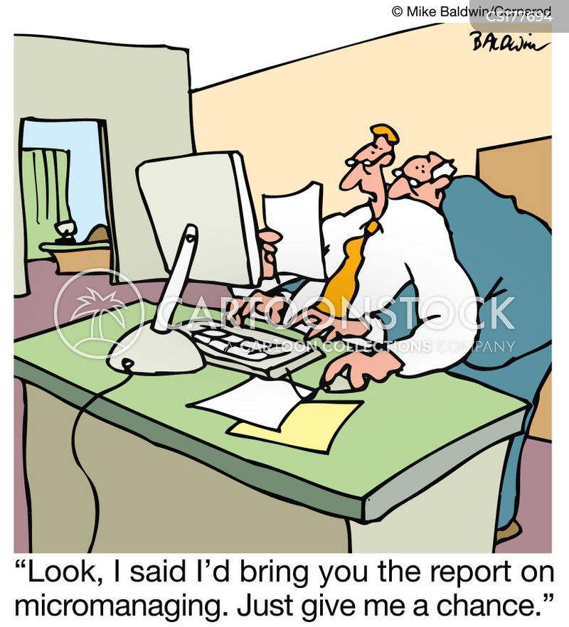 Micromanager Cartoons and Comics - funny pictures from ...