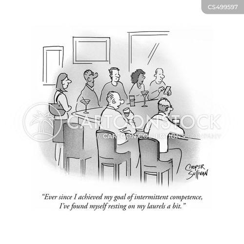 personal goal cartoon