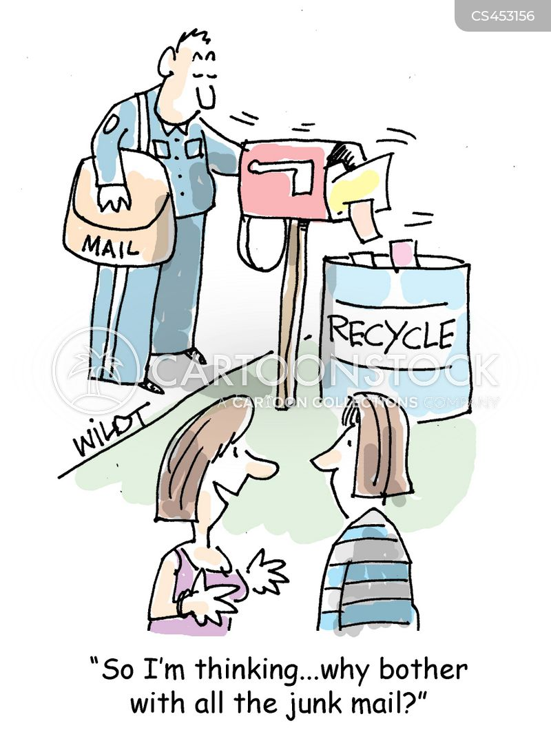 recycler cartoon