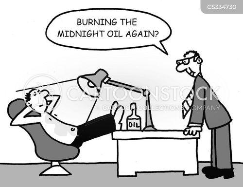 tanning oil cartoon