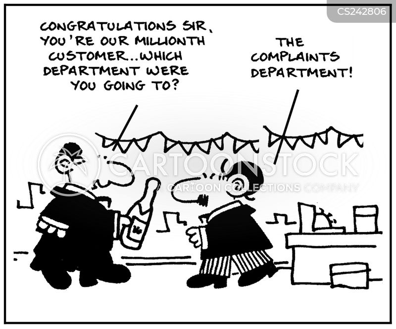 department shops cartoon