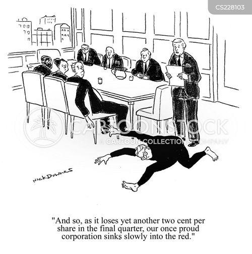 economic recessions cartoon