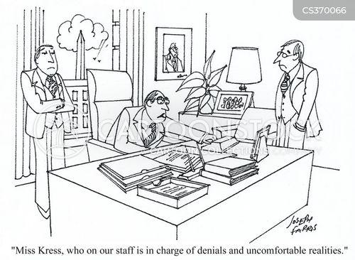 uncomfortable situation cartoon