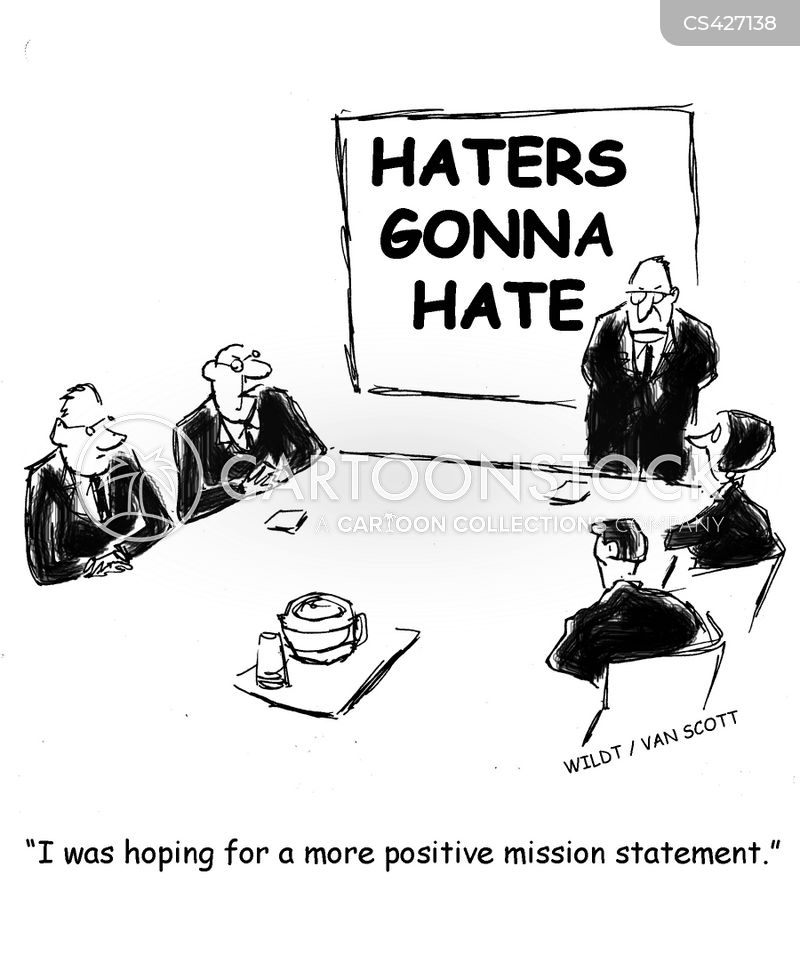 positive message cartoon