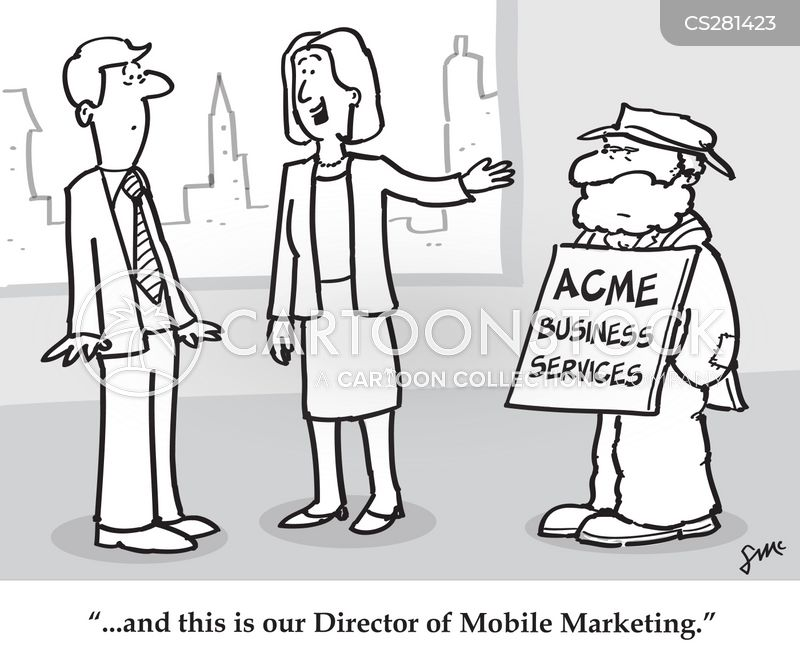 sandwich boards cartoon