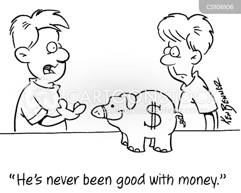 piggy-bank cartoon