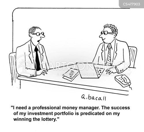 money managers cartoon