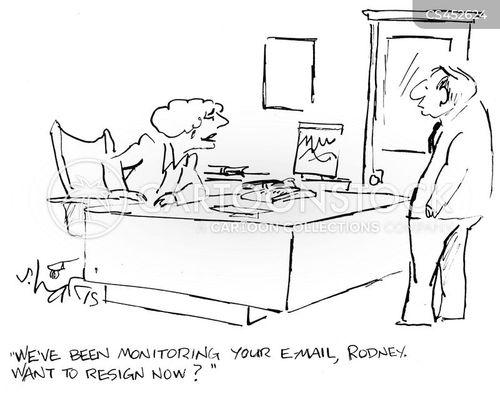snooping cartoon