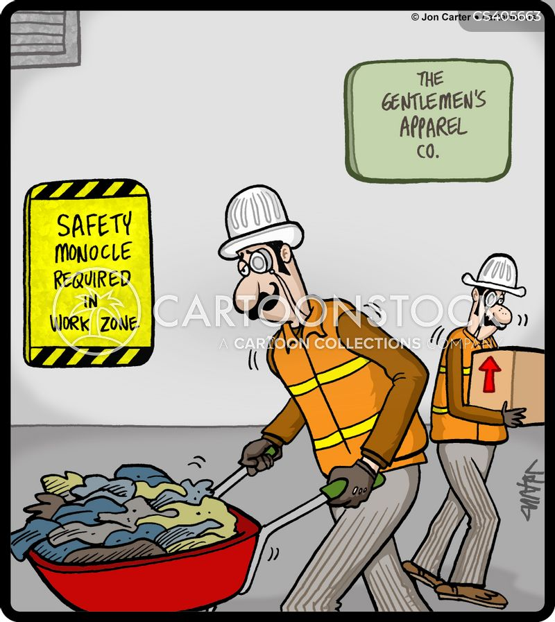 personal protective equipment cartoon