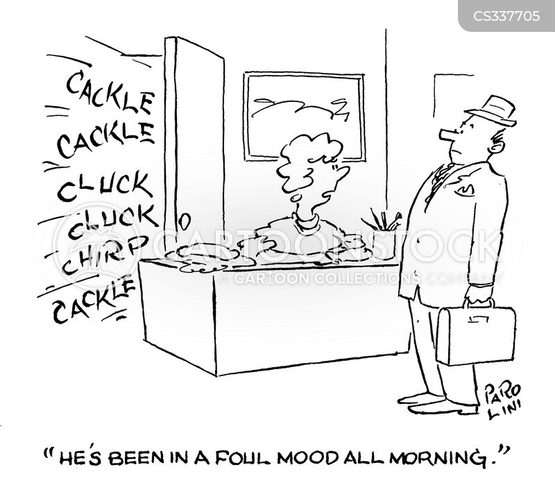 cacklefoul mood cartoon