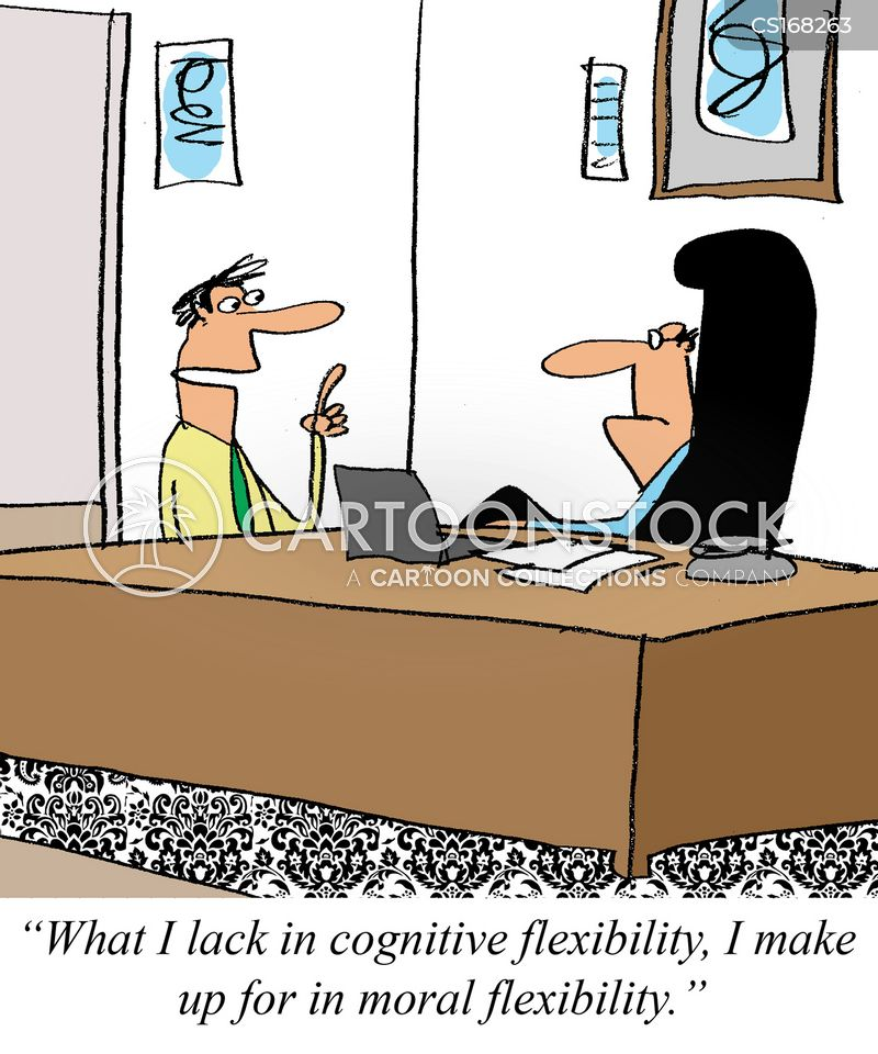 cognitive flexibility cartoon