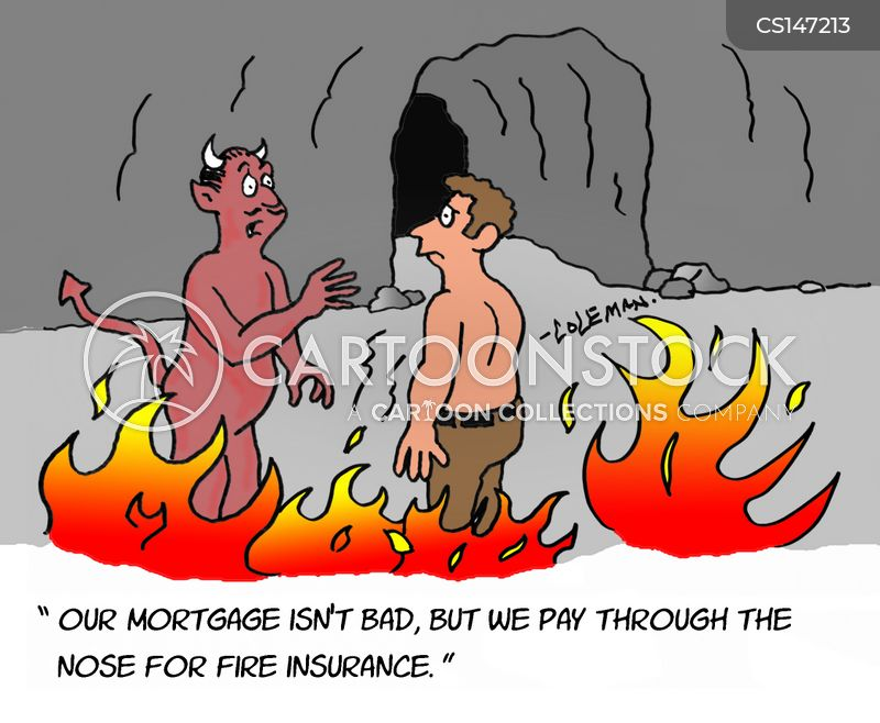 insurance fee cartoon
