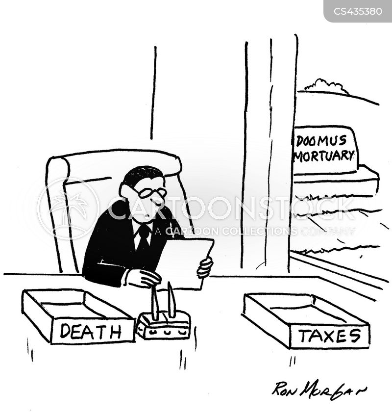 mortuaries cartoon