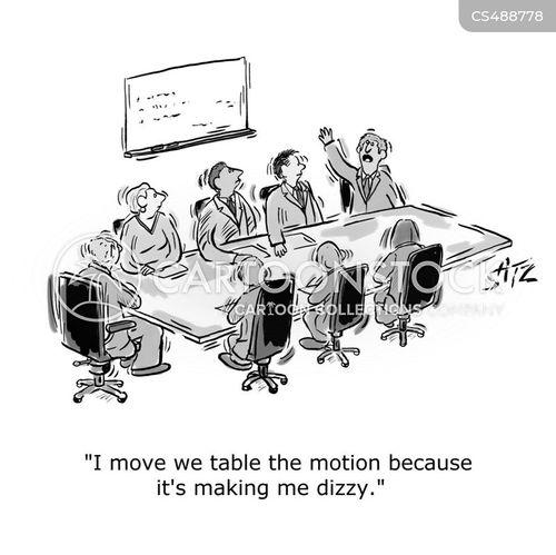 motion sick cartoon