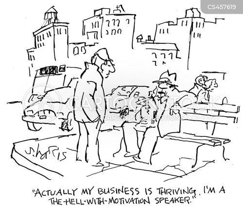 life coaching cartoon