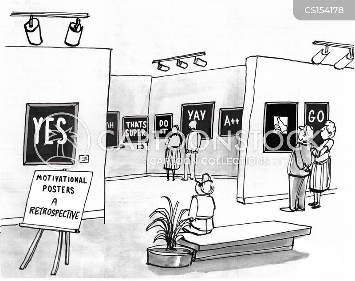 motivational slogans cartoon