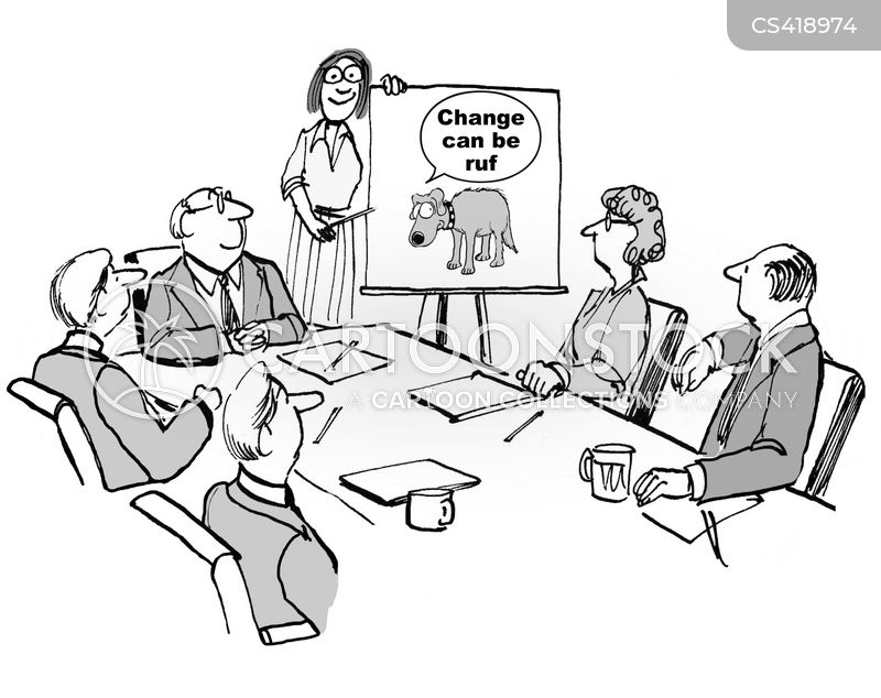 coping with change cartoon