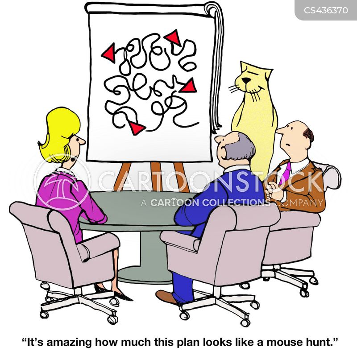 mouse hunt cartoon