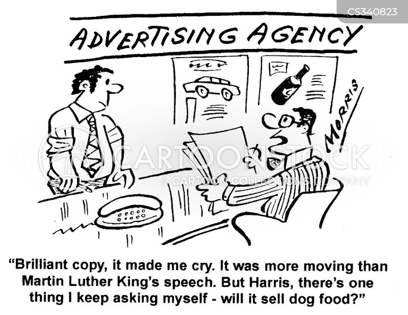advertising agency cartoon