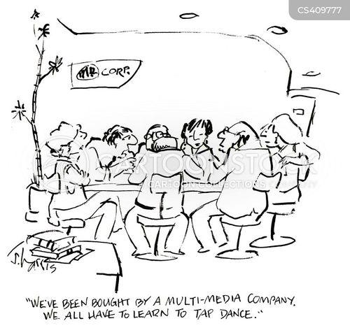 tap dancing cartoon