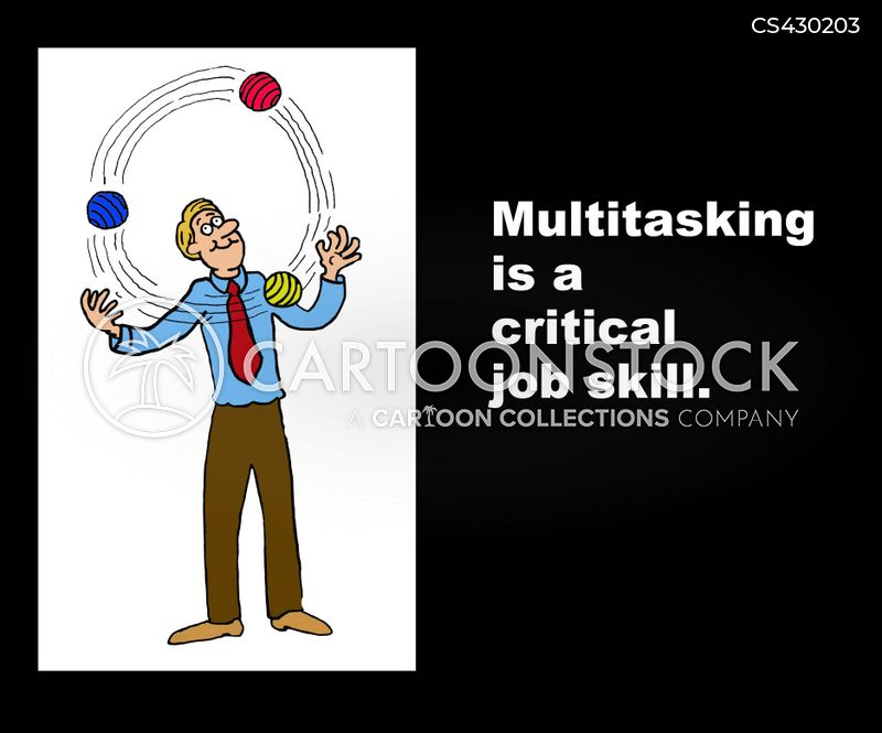 Multi-tasker cartoons, Multi-tasker cartoon, funny, Multi-tasker picture, Multi-tasker pictures, Multi-tasker image, Multi-tasker images, Multi-tasker illustration, Multi-tasker illustrations
