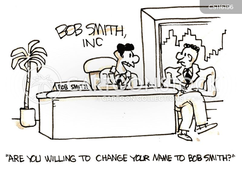 changing names cartoon