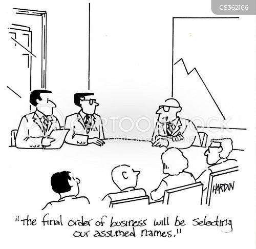 assumed cartoon